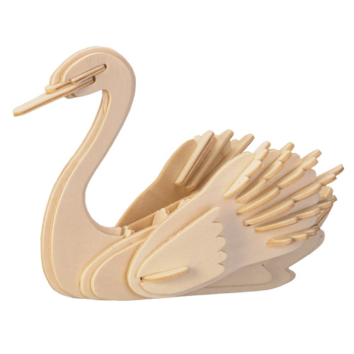 3D Wooden Jigsaw Puzzle (Swan)