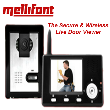 Wireless Live Door Security Viewer (Supply Only)