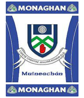 Official G.A.A County Branded Rugs - Monaghan