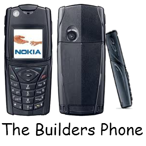 "Nokia 5140i ""The Builders Phone"" Black"