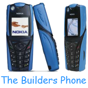 "Nokia 5140i ""The Builders Phone"" Blue"