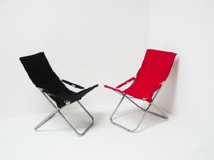 Oxford Polyester Studio Chair (Beach Chairs)