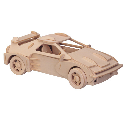 3D Wooden Jigsaw Puzzle (Sports Car 1)
