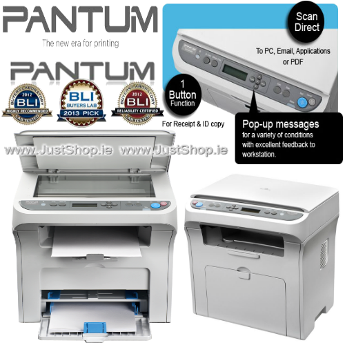 Pantum M6000 3 In 1 Multifunction Mono Laser Printer