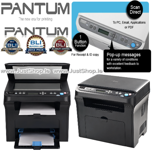 Pantum M6005 3 In 1 Multifunction Mono Laser Printer