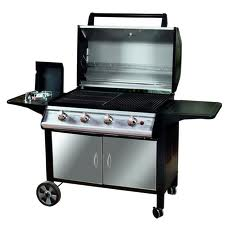 Taunton Deluxe Cabinet IV Burner Gas BBQ