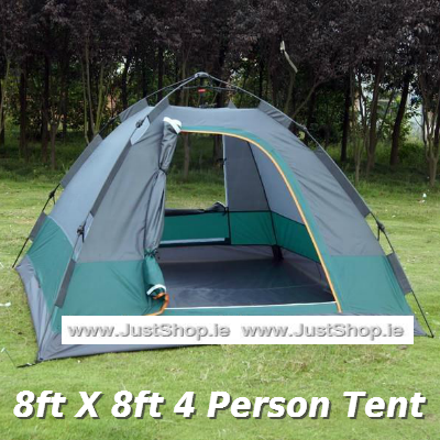 8ft X 8ft 4 Person Tent