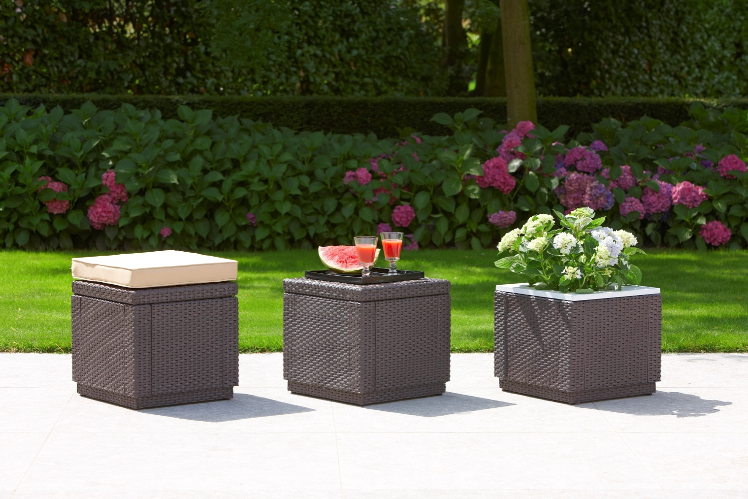 Marvelous The Cube Set (Seating   Storage   Planter)