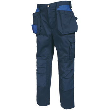 Tranemo 7330 14 Craftsman Trousers Premium Heavy Cotton - (Navy)