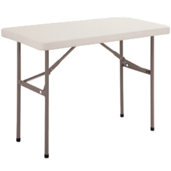 4ft X 2ft Trestle Table (Telescopic Legs)