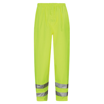 Viking High Vis Breathable Waterproof Over Trousers