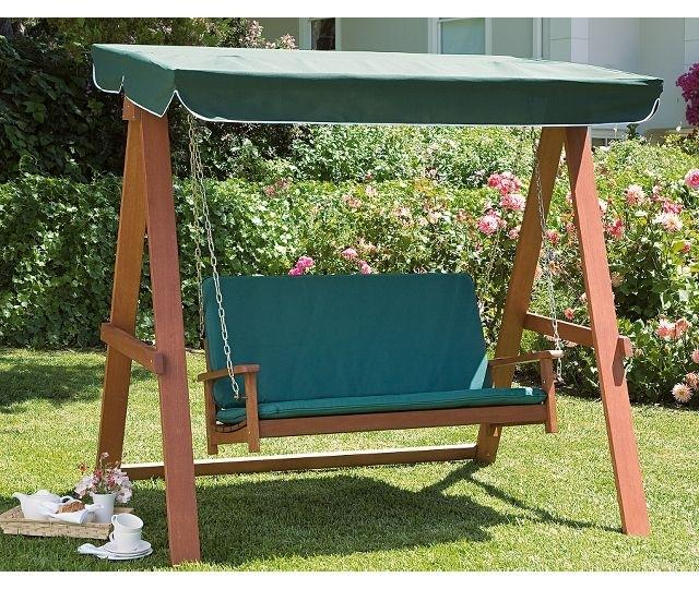 FSC Wooden Swing Hammock