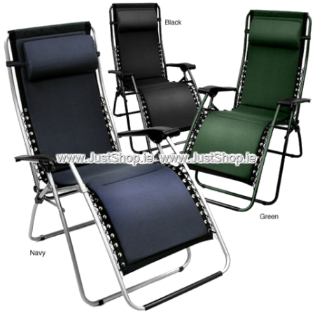 Zero Gravity Chairs - Black - Green - Navy
