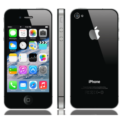 iPhone 4S 16GB Refurbished Sim Free Phone - Black