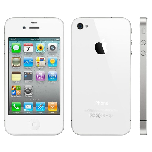 iPhone 4S 16GB Refurbished Sim Free Phone - White