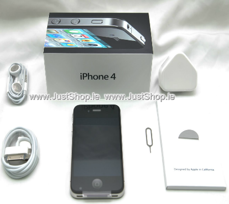 iPhone 4 Black - 16GB - Unlocked - Refurbished - Sim Free