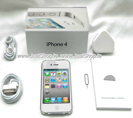 iPhone 4 White - 16GB - Unlocked - Refurbished - Sim Free